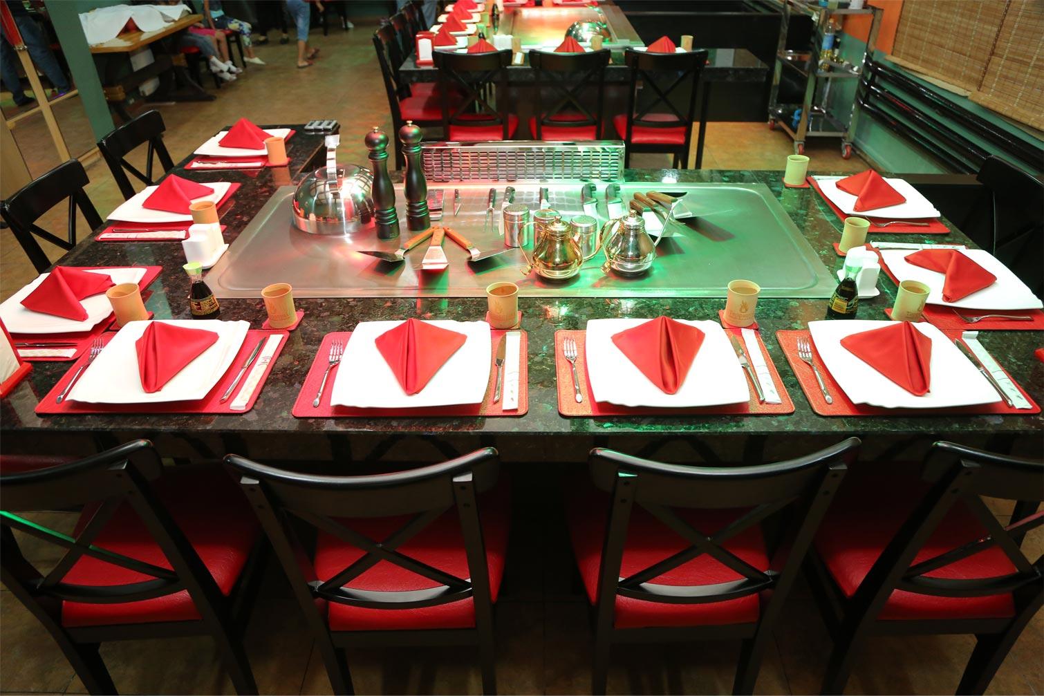 Ресторан теппаньяки в Ташкенте
